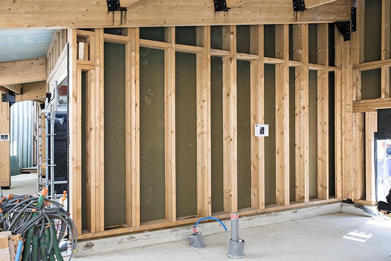 Isolation thermique par l ext rieur maison ossature bois - Isolation exterieure ossature bois ...