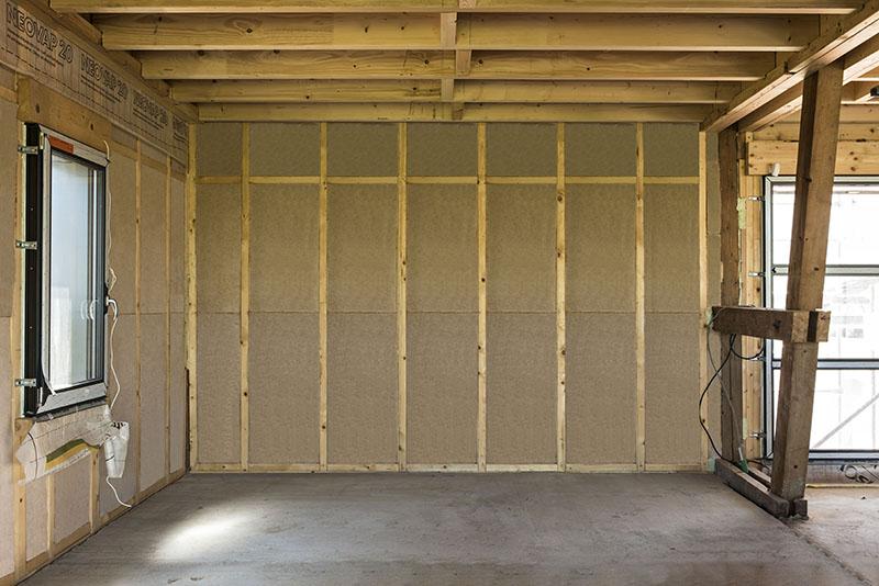 isolation de maison par l'intérieur