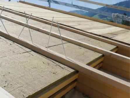 isolation en fibre de bois de la toiture par l ext rieur. Black Bedroom Furniture Sets. Home Design Ideas